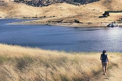 Its The Journey, Not The Destination (Dhanad Islam) Tags: california blue sea summer grass canon 50mm path walk hills journey destination lonely 18 grassland barren 60d