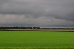 Lines (https://www.facebook.com/ArrrrtDesignPhotography) Tags: sky green netherlands weather scenery skies gray bad land flevoland arjenvanderbroek