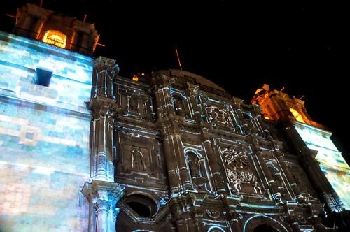 Espectáculo Multimedia Catedral Oaxaca (04)
