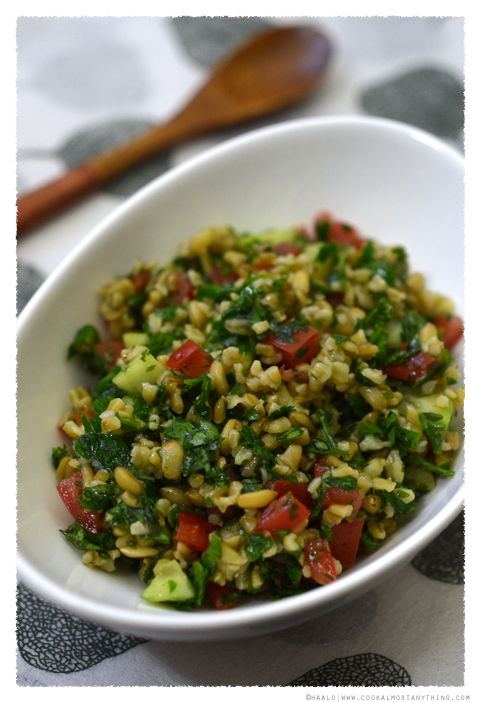 Freekeh Tabbouleh© by Haalo