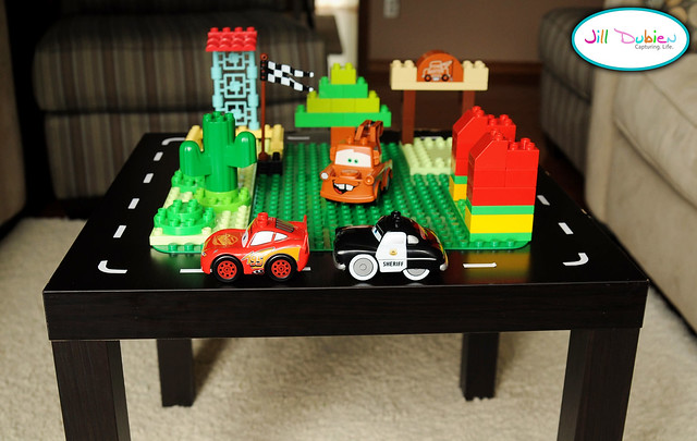 Car Themed Lego Table