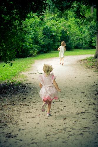 [免费图片] 人物, 孩子, 少女・女孩, 从后面, 201108190700