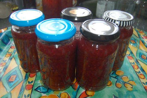 raspberry chutney Aug 11