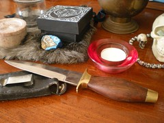 44 Days of Witchery, Day 02 - Witchy Tools:  Athame (Hellbound Witch) Tags: knife altar witchy pagan athame 44daysofwitchery