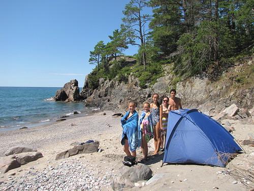 Mica Bay on Lake Superior