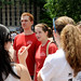 Students learned about NCSU organizations and activities during the Campus Crawl.