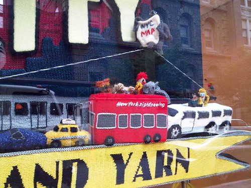 Detail of store window.