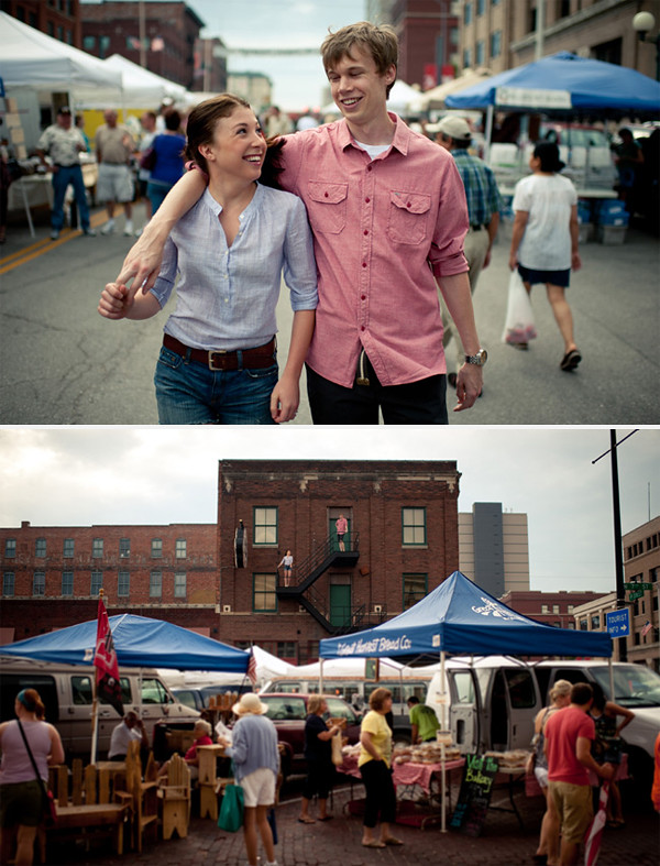 Omaha, Nebraskas Wedding Planner engagement_farmers_market