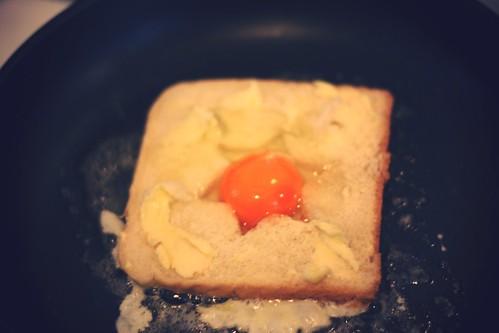 egg in a basket (ei im körbchen)
