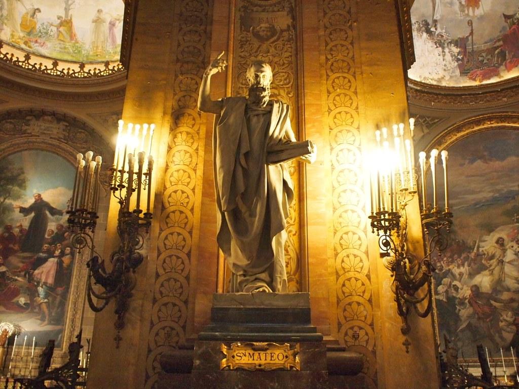 Ricardo Bellver (Spanish, 1845-1924) San Mateo (Saint Matthew) Marble. Basilica de San Francisco el Grande, Madrid.