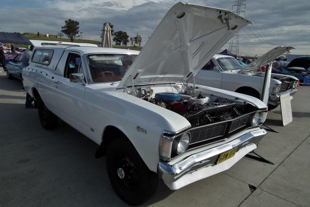 1972 Ford XY Falcon 4WD utility