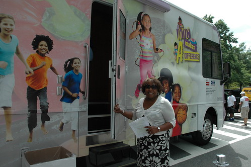 District of Columbia WIC Director Gloria Clark talks about DC's new mobile WIC clinic which will travel to underserved parts of the city to provide needed services.