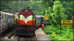 18478 Kalinga Utkal Express (Ankit Bharaj) Tags: india train canon photography is dc diesel traction engine rail locomotive motor 100 express dlw ankit sx alco kalinga lapanga railfanning orrisa utkal irfca bharaj sambalpur vskp wdg3a jharsuguda vishakhapattnam brundamal rengali