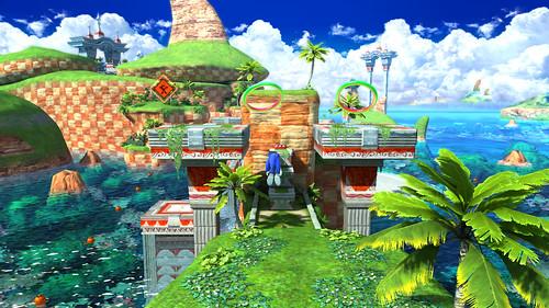 Sonic Generations Gamescom Screens