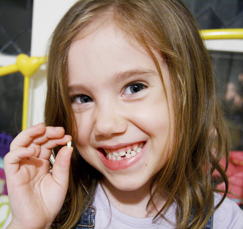 Eliza's First Lost Tooth