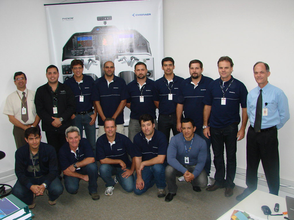 ALGAR, AEROMECANICA, VOAR AND EMBRAER ENGINNERS - E-JETS FDC (FLIGHT DISPATCHERS COURSE) - From July 25th to August 12th