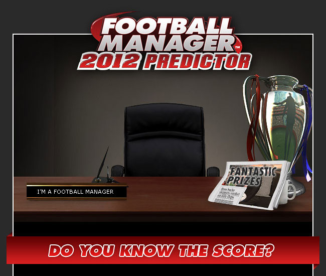 Football Manager Predicts Champions League: Football Manager 2012 Predictor League