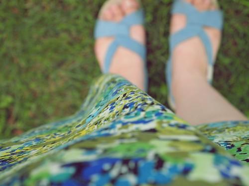 blues & greens