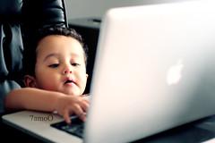 IMG_0920 (Weda3eah*) Tags: baby apple pro macbook weda3eah 7amoo