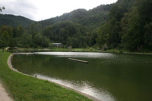 Blick auf den Luegsteinsee