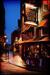 Ye Olde Union Oyster House (Jeff_B.) Tags: old brick boston america vintage americana restuarant bluehour mass oldtown redbrick downtowncity oysterhouse