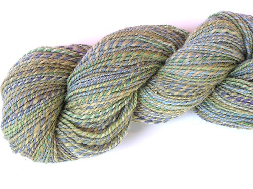 "~~""Dry Grass in Montana"" Handspun Yarn~~"