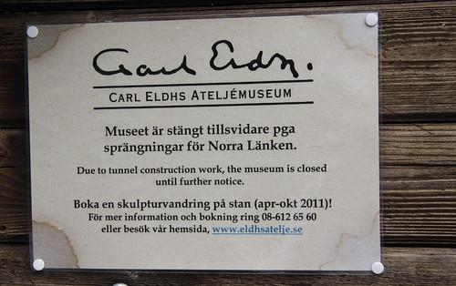 Eldh Museum geschlossen