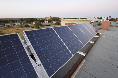 Solar PV - 180 panels on The Ridge in Medicine Hat more - 09
