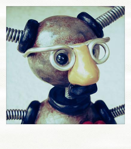 Sneak Peek - Robot disguised as a people? by HerArtSheLoves