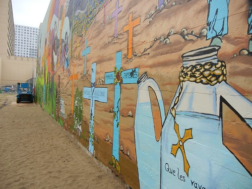Quaker mural detail