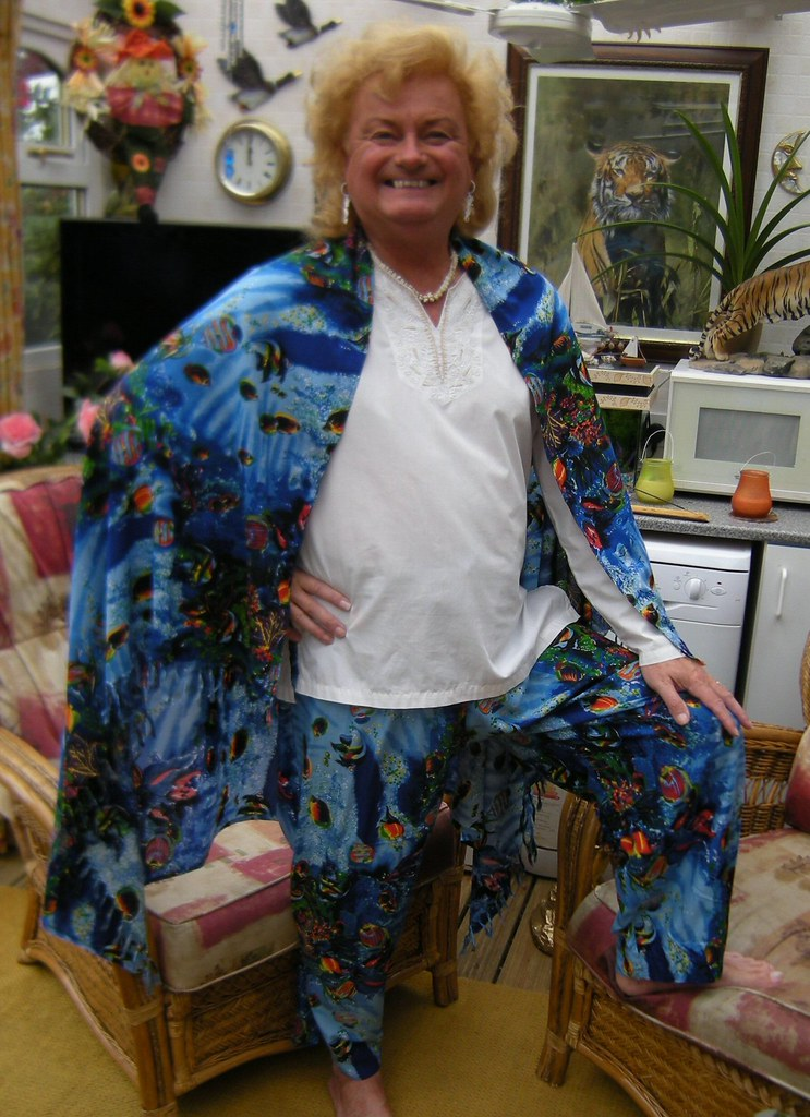 Mystic Ed's Tropical Fish outfit!
