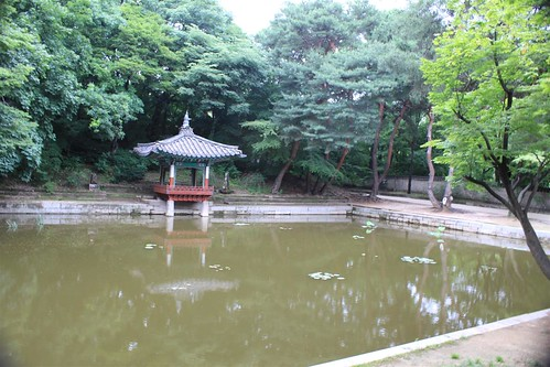 Aeryeongji and vicinity at Changdeokgung Palace, Seoul South Korea