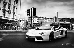 Aventador. (BjornNieborg) Tags: london driving experience lamborghini 4wheel 2011 aventador lp700 lp7004 spyderperformante