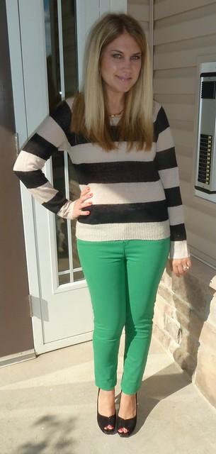 Gap Green Jeans Leggings