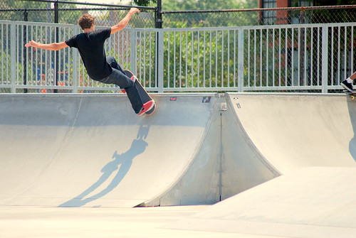 Skateboard Park - Ramp Shot