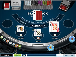 Blackjack Surrender 3 Hand Win
