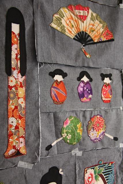 quilt kokeshi