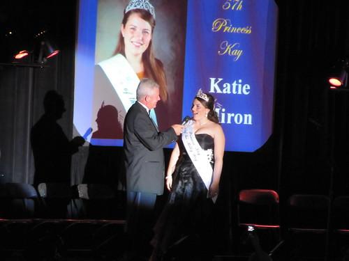 Rod Johnson with Katie Miron