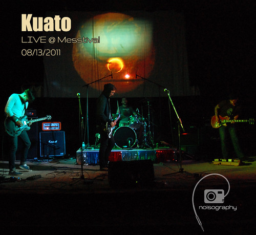 Kuato - Noisography LIVE Concert Series Album Artwork
