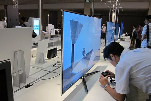 チョー薄型の液晶テレビ