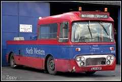 A survivor from the REAL North Western. (Zippy's Revenge) Tags: bus conversion leopard vehicle depot converted alexander northwestern recovery towing leyland wigan 918 wrecker greatermanchester crosville ytype aja142b