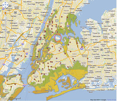 NYC evacuation zones Map