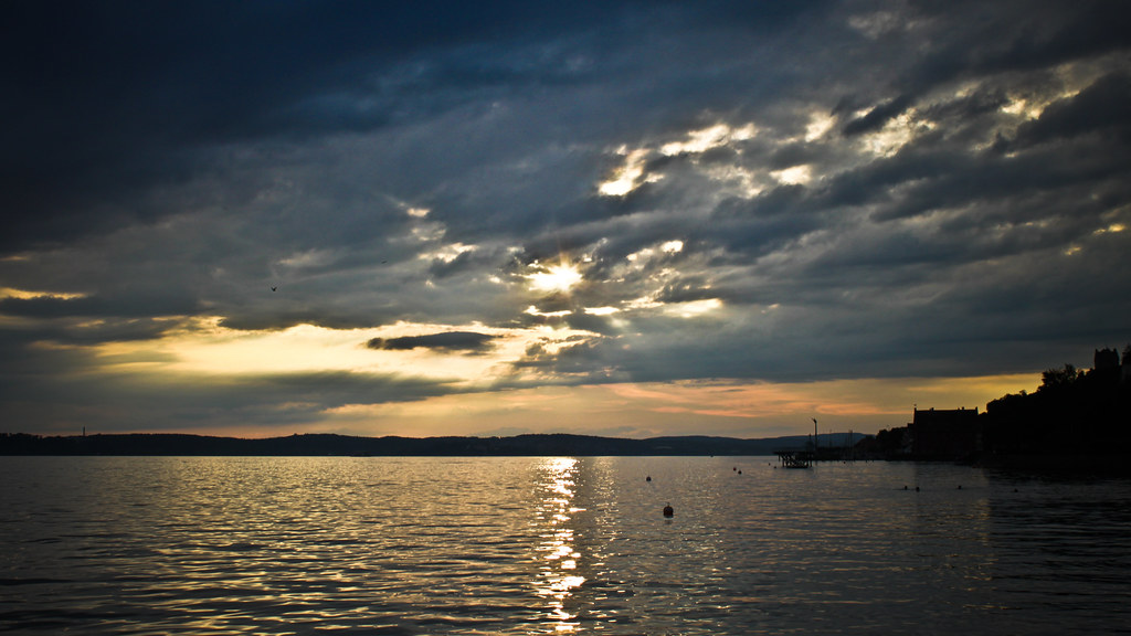 0243 - Germany, Meersburg, Sunset