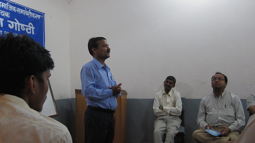 FNJ Dhanusa District President, Ramses Jha