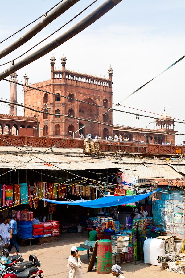 Market behind Jama Masjid