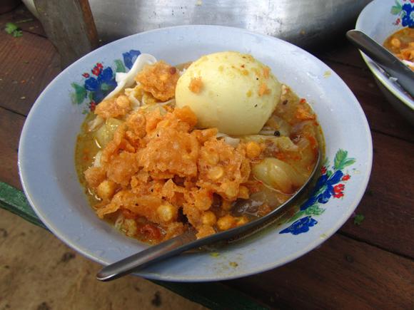 Mohinga for Breakfast