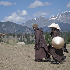 """Peace is Every Step"" (Fe 108Aums) Tags: concentration peace monks mindfulness insight determination thichnhathanh estesparkcolorado peaceiseverystep walkingmeditation"