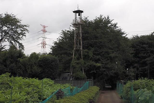 高倉新右ヱ門前の火の見櫓(鶴ヶ島市)