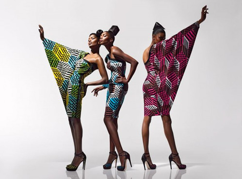 Dazzling Graphics' fabric collection from Vlisco -5
