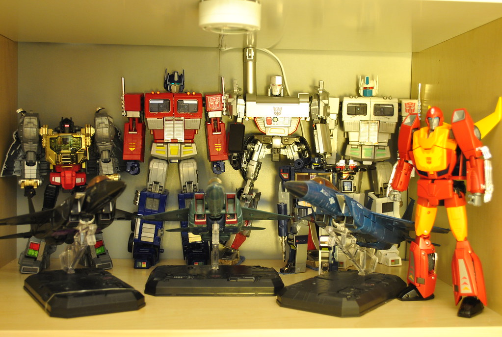 Transformers Masterpiece Collection (Updated)